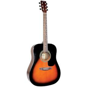 Johnson JG-620-S Player Series Dreadnought Acoustic Guitar, Sunburst