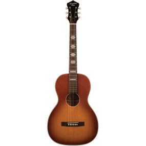 Recording King RPS-7-TS Dirty 30's Single 0 Acoustic Guitar, Tobacco Sunburst