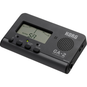 Korg GA-2 Compact Guitar & Bass Tuner, Needle-Style Meter w/ Reference Tone