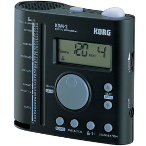 Korg KDM-2 Digital Metronome for Band & Orchestra, w/ Tap Tempo & Reference Tone