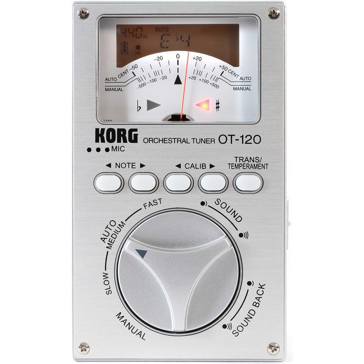 Korg OT-120 Studio Pro Tuner Chromatic Multi-Instrument Orchestral Tuner