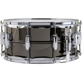 "Ludwig LB417 Black Beauty 6.5"" x 14"" Supra-Phonic Brass Snare Drum"
