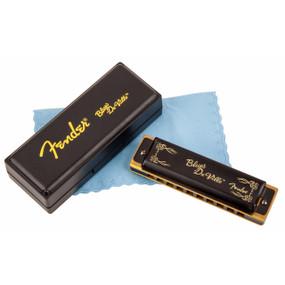 Fender Blues Deville Harmonica - Key of A, 10-Hole Diatonic, 099-0702-003