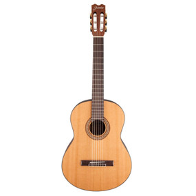 Jasmine by Takamine JC27 Solid Cedar Top Classical Acoustic Guitar, Natural (JC27-NAT)