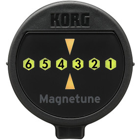 Korg Magnetune MG-1 Magnetic Guitar Tuner, Attaches to Tuning Pegs