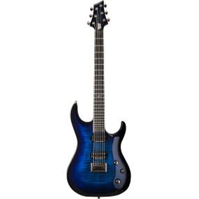 Washburn PXMTR20 Trevor Rabin Signature Parallaxe Electric Guitar, Flame Trans Blue