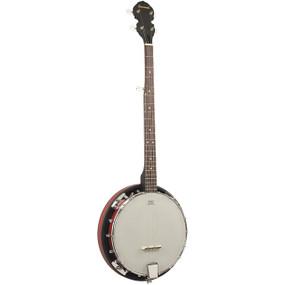 Savannah SB-080 18 Bracket 5-String Resonator Banjo, Closed Back