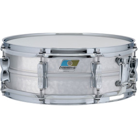"Ludwig LM404K Acrolite Hammered Aluminum Shell Snare Drum w/ Twin Lugs, 5""x 14"""