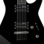 ESP LTD M-10 Kit Solid Body Electric Guitar with Gig Bag, Black