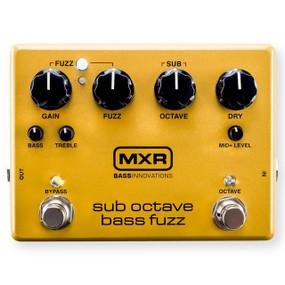 Dunlop MXR Bass Innovations M287 Sub Octave Bass Fuzz Effects Pedal