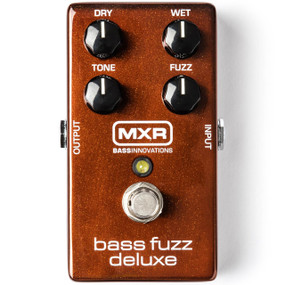 Dunlop MXR Bass Innovations M84 Bass Fuzz Deluxe Effects Pedal