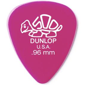 Dunlop 41P1.14 Pink Delrin Standard 1.14mm Guitar Picks, 12-pack