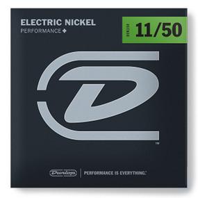 Dunlop DEN1150 Performance+ Electric Guitar Strings, Medium Heavy 11-50
