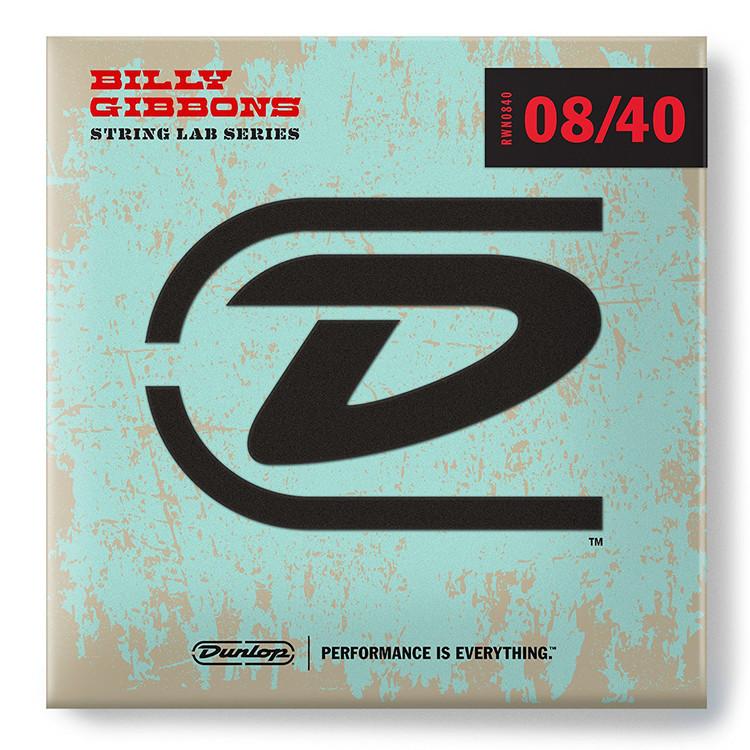Dunlop RWN0840 Billy Gibbon's Signature Electric Guitar Strings, Light