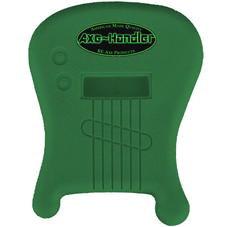 "Axe-Handler ""Strings-In"" Portable Guitar Stand w/ Pick Holder - GREEN"
