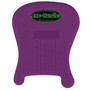 "Axe-Handler ""Strings-In"" Portable Guitar Stand w/ Pick Holder - PURPLE"