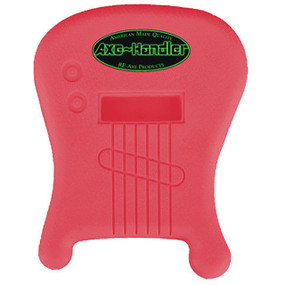 """Axe-Handler """"Strings-In"""" Portable Guitar Stand w/ Pick Holder, Pink (AX-SI-PNK)"""