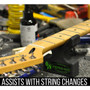 """Axe-Handler S/O """"Strings Out"""" Portable Guitar Stand & Neck Support Cradle, Orange (AX-SO-ORG)"""