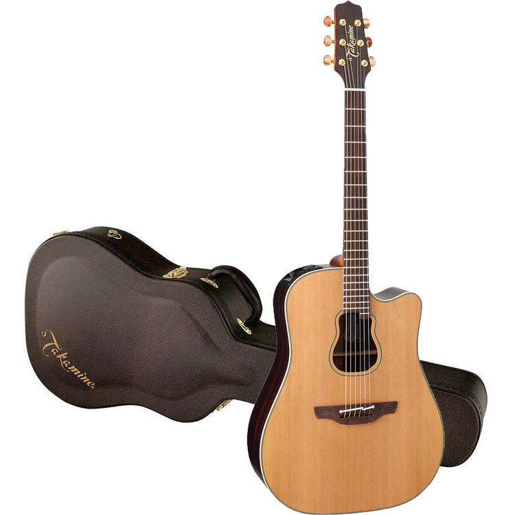 Takamine GB7C Garth Brooks Signature All Solid Acoustic Electric Guitar, Natural