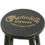 "Martin Guitar Strings 24"" Wooden Guitar Player Stool, Black - 40MSP0104"