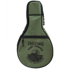 Deering Goodtime Deluxe Padded Banjo Ukulele Gig Bag, Banjolele - Green