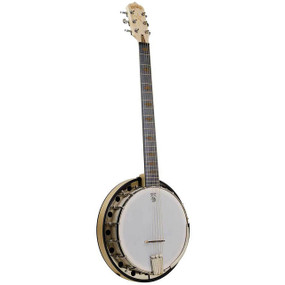 Deering Goodtime Six-R Left-Handed 6-String Banjo with Resonator