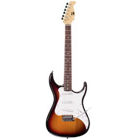 AXL AS-750-SN Headliner SRO Double Cutaway Electric Guitar, Sunburst (AS-750-SN)