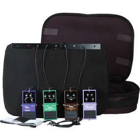 Johnson FX-BRD Powered Pedal Board with Bag (FX-BRD)