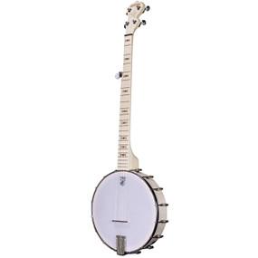 Deering Goodtime Openback 5-String Bluegrass Banjo, Natural Blonde Maple (GDT-G)