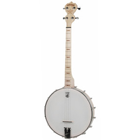 Deering Goodtime 17-Fret Tenor 4-String Open Back Banjo, Natural - Made in the USA (GDT-G17)