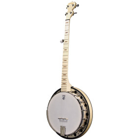 Deering Goodtime Special 5-String Banjo with Resonator, Blonde Maple (GDT-GS)