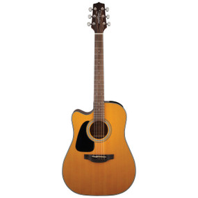 Takamine GD30CELH-NAT Left-Handed Dreadnought Cutaway Acoustic-Electric Guitar, Natural (GD30CELH-NAT)