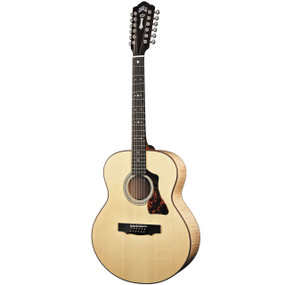 Guild GAD-JF3012E 12-String Jumbo Acoustic Electric Guitar w/Case (Refurbished) (GADJF3012E)
