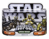 Star Wars Episode 2 Junior Figure 2 Pack 4Lom & Bossk (TOY)