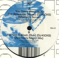 "Kode9 - You Don't Wash Remixes - 12"" Vinyl"