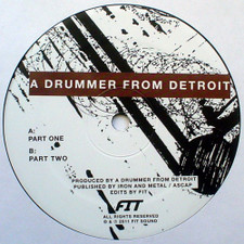 "A Drummer From Detroit - Drums #1 - 12"" Vinyl"