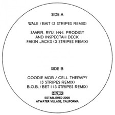 """3 Stripes - Remixes Vol.1 - 12"""" Vinyl"""