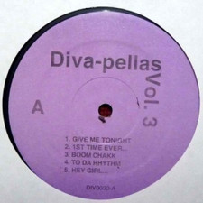 "Various Artists - DIVA PELLAS Vol 3 - 12"" Vinyl"