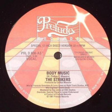 "Strikers - Body Music - 12"" Vinyl"