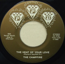 """The Campfire - Heat of Your Love - 7"""" Vinyl"""