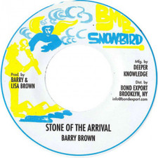 """Barry Brown - Stone of the Arrival - 7"""" Vinyl"""