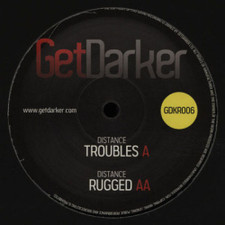 """Distance - Troubles/Rugged - 12"""" Vinyl"""