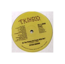 "Peter Brown - Do You Wanna Get Funky 1 - 12"" Vinyl"