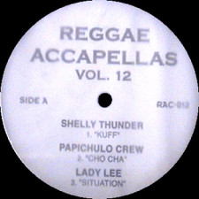 "Reggae Acapella Vol 12 - Reggea Acapellas Volume 12 - 12"" Vinyl"
