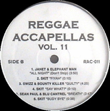 "Reggae Acapella Vol 11 - Reggea Acapellas Volume 11 - 12"" Vinyl"
