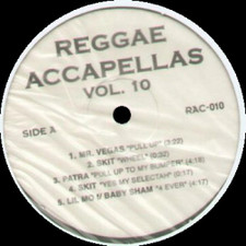 "Reggae Acapella Vol 10 - Reggea Acapellas Volume 10 - 12"" Vinyl"