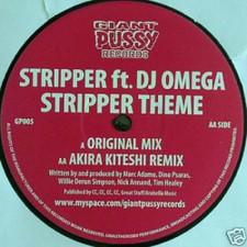 "DJ Omega/Akira Kiteshi - Stripper Theme - 12"" Vinyl"