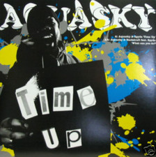 "Aquasky & Spyda - Time Up PILGREM/DRUMSOUND RMX - 12"" Vinyl"