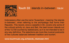 Touch 33 - Islands In-Between - LP Vinyl