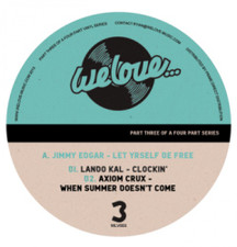 """Various Artists - We Love Detroit Pt.3 - 12"""" Vinyl"""